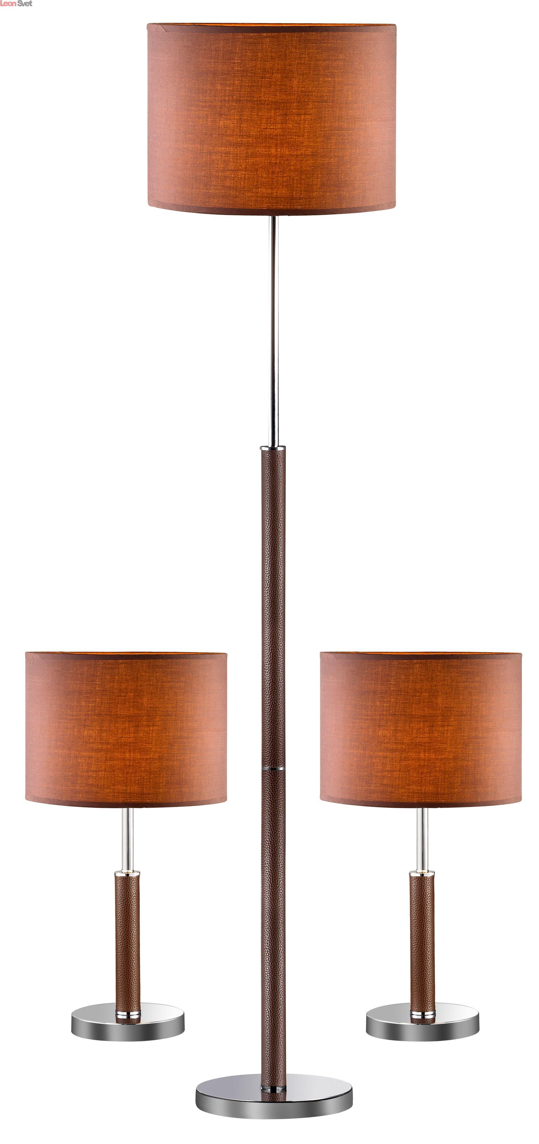 Комплект из торшера и двух настольных ламп 1427-SET от Favourite